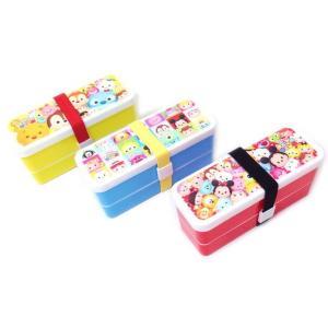 【景品玩具】 ディズニーツム柄 2段ランチBOX 3柄アソ-ト 12入り |itibei