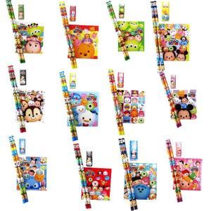 【セット文具】ディズニーツム柄4点文具セット Part2 25セット入り|itibei
