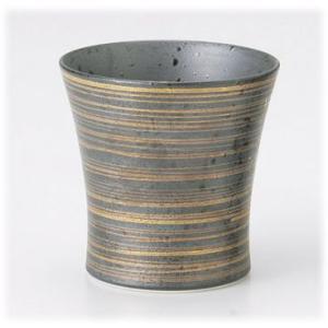 〔有田焼 フリーカップ〕 金彩(スリム) ミニワビカップ 3個組|itibei