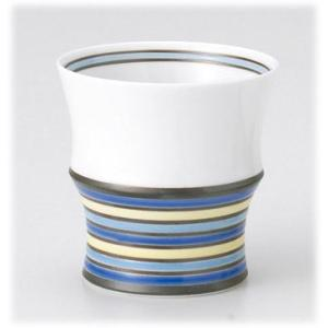 〔有田焼 フリーカップ〕 カラーズブルー(シングル) ミニワビカップ 3個組|itibei