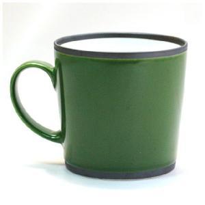 〔有田焼 マグカップ〕 カラー ワビマグカップ(G)|itibei