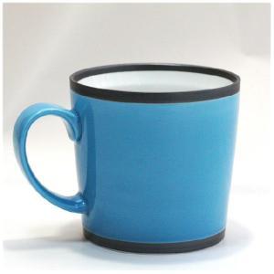 〔有田焼 マグカップ〕 カラー ワビマグカップ(B)|itibei