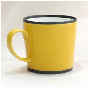 〔有田焼 マグカップ〕 カラー ワビマグカップ(Y)|itibei