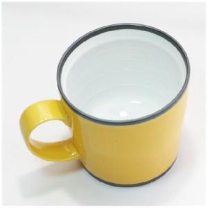 〔有田焼 マグカップ〕 カラー ワビマグカップ(Y) itibei 04