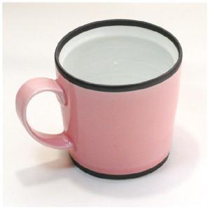 〔有田焼 マグカップ〕 カラー ワビマグカップ(P)|itibei