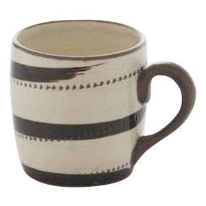 〔波佐見焼 マグカップ〕 黒うず鉋 マグカップ 5個組|itibei