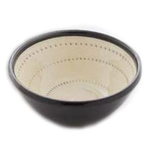 〔波佐見焼 丼〕 白刷毛鉋 10.5cmボール 5個組|itibei
