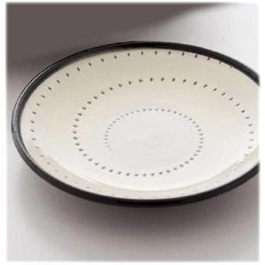 〔波佐見焼 和皿・洋皿〕 白刷毛鉋 17cm丸皿 5個組|itibei