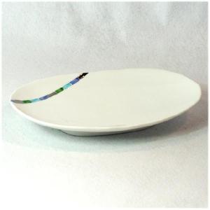 〔有田焼 和皿・洋皿〕 永遠(青) 楕円銘々皿|itibei
