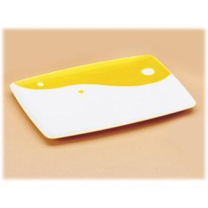 〔有田焼 子供用食器〕 朝ごはんプロジェクト 濃黄釉丸紋 プレート 3個組|itibei