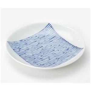 〔有田焼 和皿・洋皿〕 藍らいん 和皿 5個組|itibei