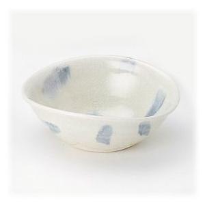 〔信楽焼 小鉢〕 青しずく たわみ小鉢 5個組|itibei