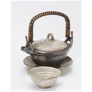 〔萬古焼 和皿・洋皿〕 粉引 土瓶蒸し|itibei