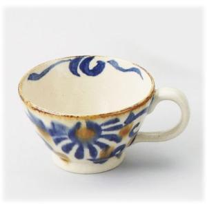 〔波佐見焼 マグカップ〕 大輪花 スープカップ|itibei