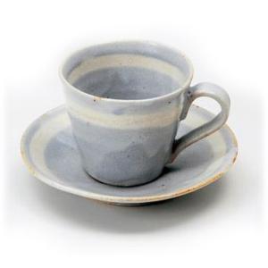 〔美濃焼 コーヒー碗皿〕 雅−SHINO 碗皿 (B)|itibei