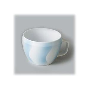 〔有田焼 マグカップ〕 CUE BlueWave マグカップ(B) 3個組 itibei