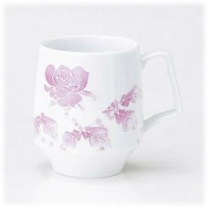 〔有田焼 マグカップ〕 幸せなモーニングマグ マダムローズ|itibei