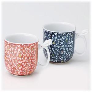 〔有田焼 マグカップ〕 華の里 ペアマグカップ|itibei