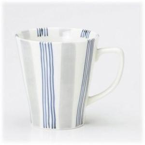 〔有田焼 マグカップ〕 いなせ・青 ファミリーマグ(大) 3個組|itibei