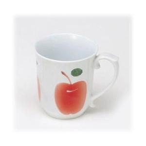 〔波佐見焼 マグカップ〕 カラーリンゴ(R) マグカップ|itibei