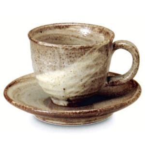 〔信楽焼 コーヒーカップ・ソーサー〕 雲雅コーヒー碗皿|itibei