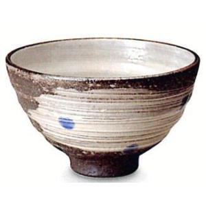 〔信楽焼 飯椀・茶漬碗〕 天の川(青)飯碗|itibei