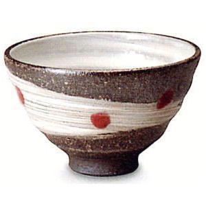 〔信楽焼 飯椀・茶漬碗〕 天の川(赤)飯碗|itibei