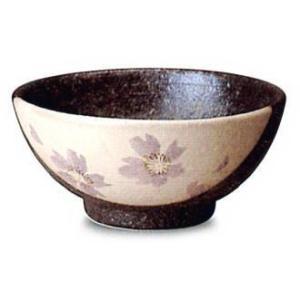 〔信楽焼 飯椀・茶漬碗〕 紫桜飯碗|itibei