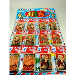 時代めんこ(10枚セット×12付) 〔台紙玩具〕|itibei