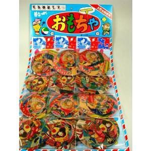 武者めんこ(6枚セット×12付) 〔台紙玩具〕|itibei