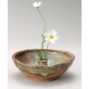 〔信楽焼 蚊遣り花器〕 ビードロ蚊やり花器|itibei