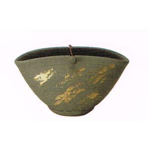 〔蚊遣り器〕 黒陶金彩蚊やり器(器具付)|itibei