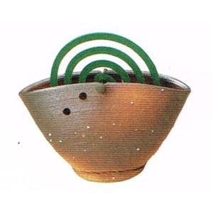 〔蚊遣り器〕焼締蚊やり器(器具付)|itibei