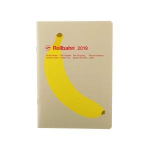 デルフォニックス 2019年手帳 B6 ロルバーンノートダイアリー フルーツ 004  B(バナナ)