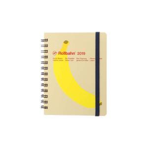 デルフォニックス 2019年手帳 A6変形 ロルバーンダイアリーフルーツM 020 B(バナナ) 1...