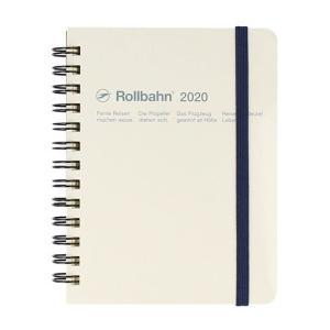 デルフォニックス 2020年 手帳 ロルバーン ダイアリー M (マンスリー) ホワイト