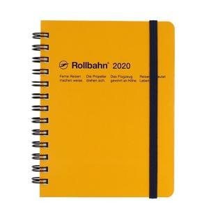 デルフォニックス 2020年 手帳 ロルバーン ダイアリー M (マンスリー) イエロー