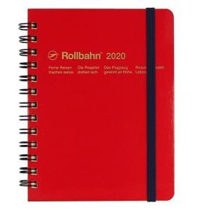 デルフォニックス 2020年 手帳 ロルバーン ダイアリー M (マンスリー) レッド
