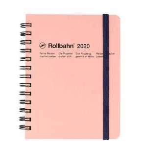 デルフォニックス 2020年 手帳 ロルバーン ダイアリー M (マンスリー) ライトピンク