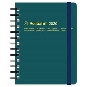 デルフォニックス 2020年 手帳 ロルバーン ダイアリー M (マンスリー) ダークグリーン