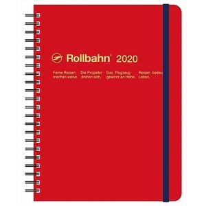 デルフォニックス 2020年 手帳 ロルバーン ダイアリー A5 (マンスリー) レッド
