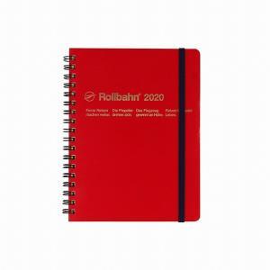 デルフォニックス 2020年 手帳 ロルバーン ダイアリー ライト L (マンスリー) レッド