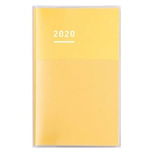 コクヨ ジブン手帳 2020年ダイアリー A5スリム 11月始まり イエロー ニ-JCD1Y-20