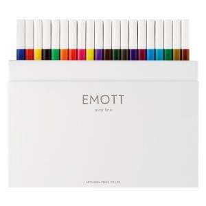 三菱鉛筆 uni 水性サインペン エモット(EMOTT) 0.4mm 40色セット PEM-SY 4...