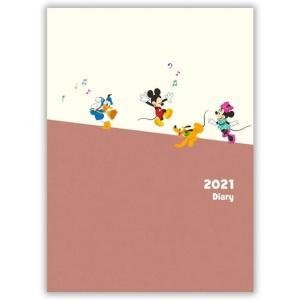 ホールマーク 2021年 手帳 A5 ファミリーダイアリー 775-834 ディズニーパルス 12月...