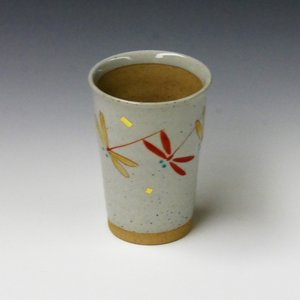 陶製コップ フリーカップ とんぼ|ito-shoyudo
