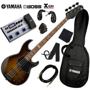 調整済で弾きやすいヤマハBB734A+BOSSマルチ+ワイヤレス・セット