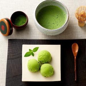 宇治の本店茶房でしか味わえない『抹茶パフェ』にも使用している濃厚抹茶味が魅力のアイスです。口の中で豊...