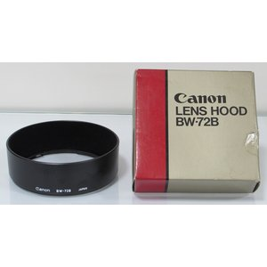 【中古】 Canon レンズフードBW-72B