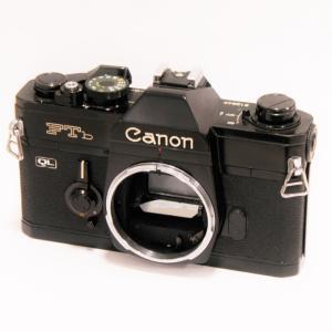 【中古】 Canon FTb-N ブラック ボディ[マニュアルフォーカスフイルム一眼レフカメラ]